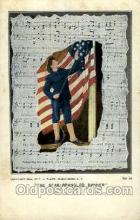 mil007305 - The star-spangled banner Military Postcard Postcards