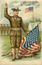 mil007311 - Volunteered Military Postcard Postcards