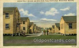 mil007315 - Camp Breckinridge, Morganfield, Kentucky, USA Military Postcard Postcards