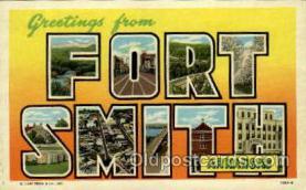 mil007319 - Fort Smith, Arkansas, USA Military Postcard Postcards