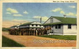 mil007324 - Camp grant, Illinois, USA Military Postcard Postcards