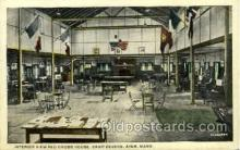 mil007326 - Red Cross House, Camp Devens, Ayer, Massachusetts, USA Military Postcard Postcards