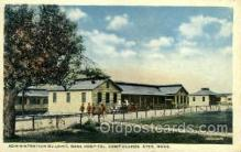 mil007335 - Base hospital camp devens ayer, Massachusetts, USA Military Postcard Postcards