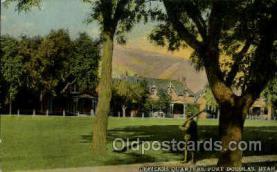 mil007337 - Fort douglas, Utha, USA Military Postcard Postcards