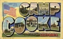 mil007340 - Camp Cooke, California, USA Military Postcard Postcards