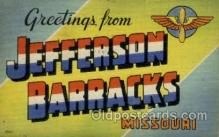 mil007341 - Jefferson Barracks, Missouri, USA Military Postcard Postcards