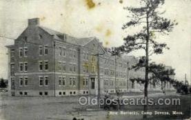 mil007347 - New Barracks Camp Devens, Massachusetts, USA Military Postcard Postcards