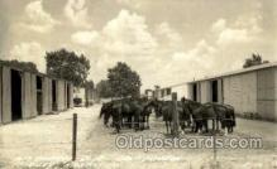mil007349 - 14th Cavalry Co. Camp Funsion, Ft Riley, Kansas, USA Military Postcard Postcards