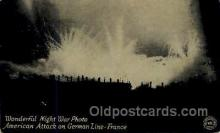 mil007351 - American Attack on German Line- France Military Postcard Postcards