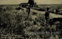 mil007361 - Troops Digging in - France Military Postcard Postcards