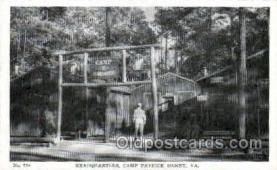 mil007363 - Camp patrick henry  Military Postcard Postcards