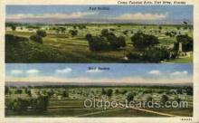 mil007399 - Fort Riley, Kansas, USA Military Postcard Postcards