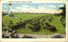 mil007421 - Military camp Military Postcard Postcards