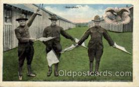 mil007441 - Semaphore Military Postcard Postcards