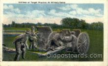 mil007444 - Target practice Military Camp Military Postcard Postcards