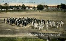 Preparing for Drill, US Training Station