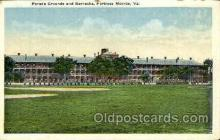 Parade Grounds & Barracks