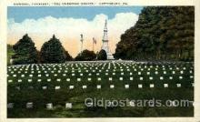 Civil War, National Cemetery, Unknown Graves