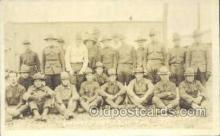mil025052 - Battery C. 309th F.A. Camp Dix WWI Real Photo Military Soldier in Uniform Post Card Postcard