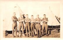 mil025088 - Military Real Photo Post Cards Old Vintage Antique Soldier, Army Men