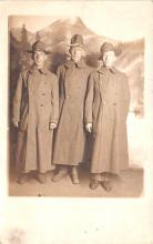mil025120 - Military Real Photo Post Cards Old Vintage Antique Soldier, Army Men