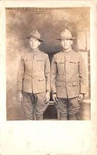 mil025137 - Military Real Photo Post Cards Old Vintage Antique Soldier, Army Men