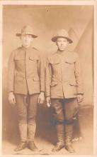 mil025183 - Military Real Photo Post Cards Old Vintage Antique Soldier, Army Men