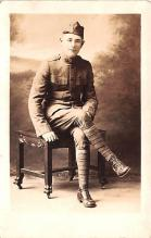 mil025212 - Real Photo Military Postcard Old Vintage Antique Post Card