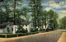 mil050008 - Army Barracks, Fort Acpherson, Atlanta, Ga, Georgia, USA Military Postcard Postcards