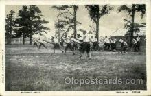 mil050019 - Bayonet Drill Military Postcard Postcards