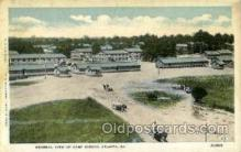 mil050025 - Camp gordon, Atlanta, Georgia, USA Military Postcard Postcards