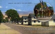 mil050031 - Camp Fortsyth, Fort Riley, Kansas, USA Military Postcard Postcards