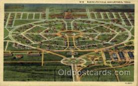 mil050035 - Randolph field, San Antonio, Texas, USA Military Postcard Postcards