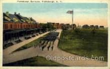 mil050043 - Plattsburgh barracks, NY, New York, USA Military Postcard Postcards