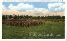 mil050045 - Training camp, Plattsburgh,NY , New York, USA Military Postcard Postcards