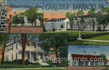 mil050051 - Carlisle Barracks, PA, Pennsylvania, USA Military Postcard Postcards