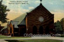 mil050052 - Franklin Murphy Chapel, Verginia, USA Military Postcard Postcards