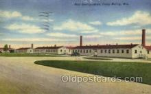 mil050053 - Camp McCoy, Wisconsin, USA Military Postcard Postcards