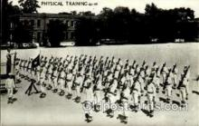 mil050061 - Physical Training Military Postcard Postcards