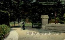 mil050067 - Vassar Hospital, Poughkeepsie, NY, New York, USA Military Postcard Postcards