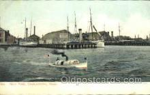 mil050090 - Navy Yard, Charlestown, Mass, Massachusetts, USA US Navy, Military Postcard Postcards