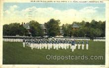 mil050098 - U.S. naval academy, Annapolis, MD, Maryland, USA US Navy, Military Postcard Postcards
