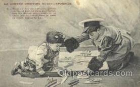 mil050112 - La Guerre Maritime Russo - Japonaise US Navy, Military Postcard Postcards