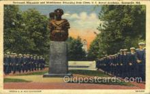 mil050114 - U.S. naval academy, Annapolis, MD, Maryland, USA US Navy, Military Postcard Postcards