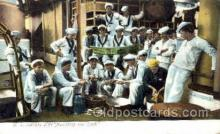 mil050119 - U.S. Sailor life US Navy, Military Postcard Postcards