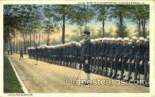 mil050120 - Navy base training station, Hampton roads,VA, Verginia, USA US Navy, Military Postcard Postcards