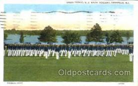 mil050134 - U.S. naval academy,Annapolis, MD, Maryland, USA US Navy, Military Postcard Postcards