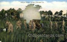 mil050148 - Service firing Military Postcard Postcards