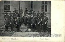 mil050157 - Wellsborough's military band Military Postcard Postcards