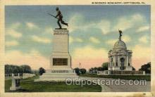 mil050158 - Minnesota Mounment, gettysburg, PA, Pennsylvania, USA Military Postcard Postcards